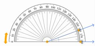 measuring angles using a protractor basic geometry video