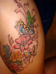 tattoos with flowers and butterflies google search tattoo