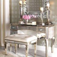 Lighted Makeup Vanity Table Furniture Black Wooden Vanity Table And Lighted Mirror Plus Glass