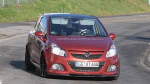 opel corsa opc opel corsa opc nürburgring edition latest spy shots
