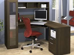 Walmart Corner Desk by Office Desk Artistic Brown Shelves Desk Chair Cabinet Drawer