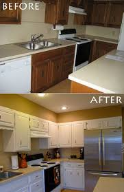 Before And After Painted Kitchen Cabinets by Before U0026 After Meredith U0026 Stephen U0027s Diy Kitchen Rehab U2014 Welcome
