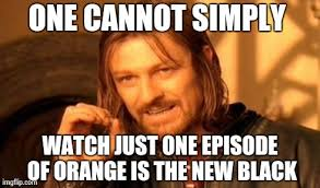 Orange Is The New Black Meme - orange is the new black andrea s world
