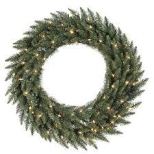outdoor pre lit wreath target
