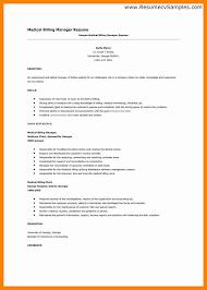 Medical Billing Resume Template 7 Medical Billing Resume Samples New Hope Stream Wood