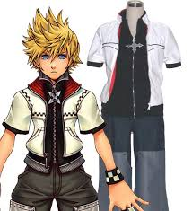 Kingdom Hearts Halloween Costumes Cheap Roxas Costume Kingdom Hearts 2 Cosplay Costume Sell