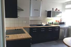 cuisine noir laqué plan de travail bois cuisine noir plan de travail bois cuisine plan travail cuisine ultra