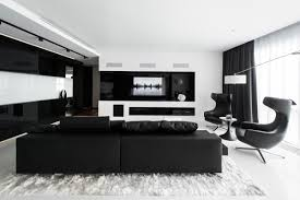 living room black lounge chair dark sofa nice silky white area