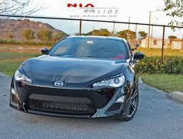 lexus is350 eyelids nia front eyelids paint matched scion fr s 2013 furious customs