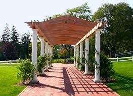 Trellis Structures Pergolas Colonnade Pergola No Cpg4 By Trellis Structures