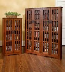 Small Media Cabinet Furniture Media Cabinets With Glass Doors Foter