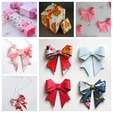 diy hacks for gift box decoration origami paper bow gift box