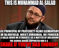 This Is Why Meme - muhammad al salad elementary school principal forcing halal menu