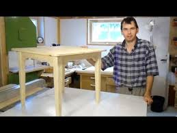 build a small table youtube