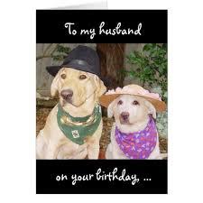 husband birthday card zazzle