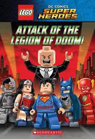 lego dc comics super heroes attack of the legion of doom book