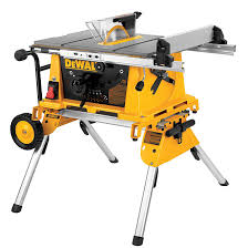 dewalt 10 portable table saw table saw with stand 10 15 a rona