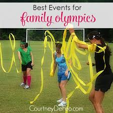 Backyard Olympic Games For Adults Best Events For Family Olympics Get Some Families Together And