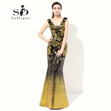 Aliexpress Com Buy Prom Dress 2017 Gold Sequin Formal Evening