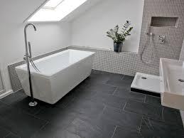 Neues Badezimmer Ideen Schiefer Black Rustic Fliesen Auch Im Badezimmer Ein Hingucker