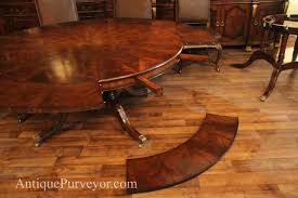 large round dining room tables with leaves marceladick com