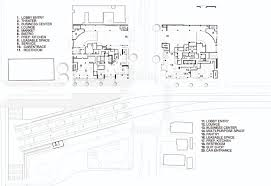 car service center floor plan gallery of downtown santa monica hotels gwynne pugh urban studio