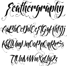 tattoo designs for letters lettering styles asian cursive handwriting practice tattoo font