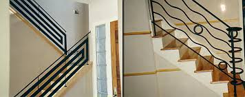 Contemporary Banisters And Handrails Iron Stair Rails Las Vegas Wrought Iron Stair Railing Las Vegas