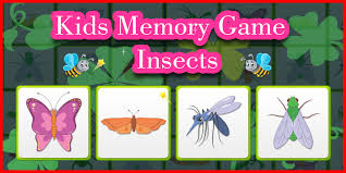 kids memory game insects unity template kids game templates