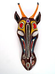 wall masks handmade wall masks antelope mask wall hanging