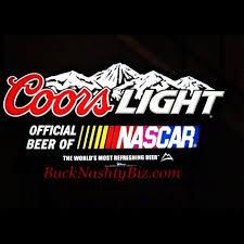 coors light bar sign coors light nascar large led beer sign light bucknashtybiz com