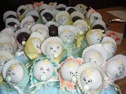 popcakes para baby shower bau pinterest baby shower cake