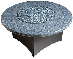 Granite Fire Pit by Oriflamme Gas Fire Pit Table Blue Pearl Granite
