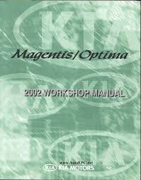 kia magentis optima repair manual order u0026 download