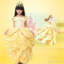 princess belle halloween beauty beast costume kid child