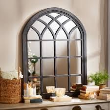 Ideas Design For Arched Window Mirror Peachy Ideas Window Wall Mirror Or Black Arch Kirklands