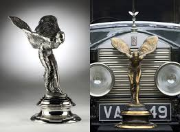 buy your own rolls royce ornament lost in a supermarket
