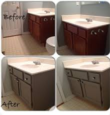 Painting Bathroom Vanity by Painted Bathroom Vanity Diy Pinterest Diy Painting Bathroom