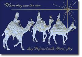 we three kings religious christmas card