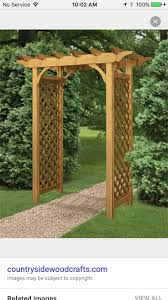33 best arbors images on pinterest arbors gardens and wooden arbor