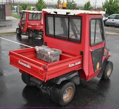 2001 kawasaki mule 550 utility vehicle item f2488 sold