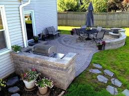 Back Yard Patio Ideas  Smashingplatesus - Small backyard designs on a budget