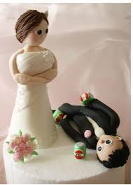 up cake topper custom cake toppers with standing up groom on