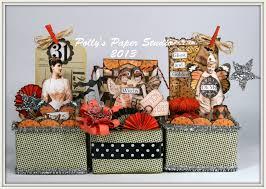 art craft for halloween halloween altered art boxes polly u0027s paper studio
