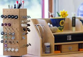 love my art jewelry handmade lazy susan tool organizer and