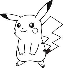 Coloriage Pikachu Facile 2 Dessin  2018 Professional Resume Templates