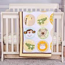 Portable Crib Bedding On Me Animal Kingdom 2 Reversible Portable Crib