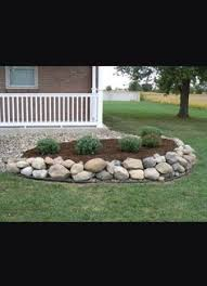 landscaping with stones and rocks instead of mulch archives