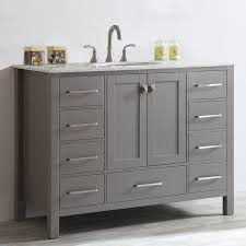 Furniture For Bathroom Vanity Beachcrest Home Newtown 48 Single Bathroom Vanity Reviews Wayfair