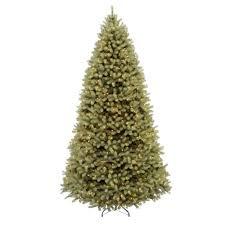 national tree company 12 ft pre lit downswept douglas fir